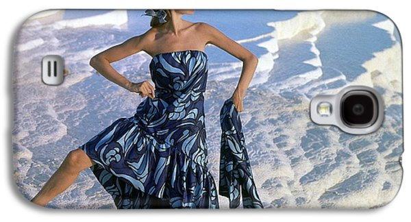Ball Gown Galaxy S4 Cases - Model, Near The Chalk-water Basins Galaxy S4 Case by Conde Nast
