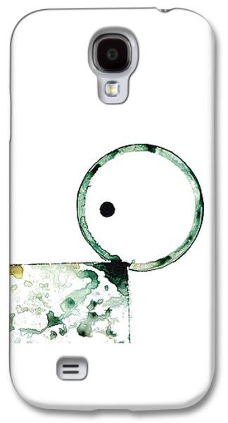 Modern Art - Balancing Act 2 - Sharon Cummings Galaxy S4 Case by Sharon Cummings