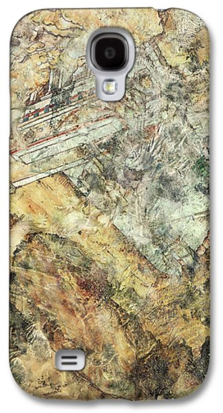 Modern Art - Hidden In Granite - Sharon Cummings Galaxy S4 Case by Sharon Cummings
