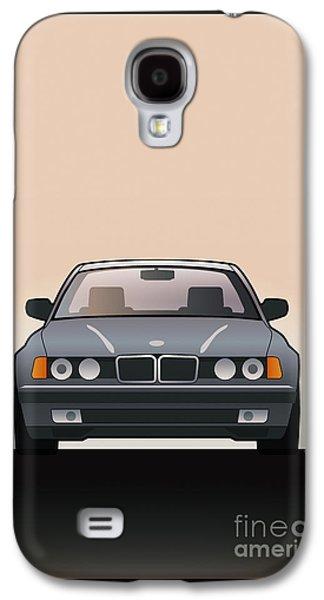 Modern Euro Icons Series Bmw E32 740i  Galaxy S4 Case by Monkey Crisis On Mars