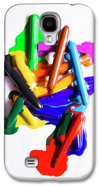 Modern Rainbow Art Galaxy S4 Case by Jorgo Photography - Wall Art Gallery