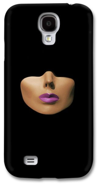 Modern Abstract Pyrography Galaxy S4 Cases - Modern Woman Galaxy S4 Case by Shawn Powers