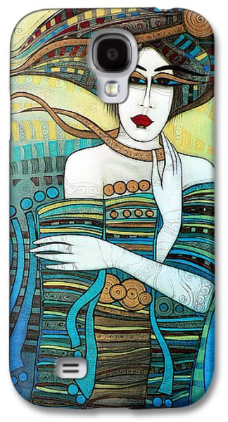 Separation Paintings Galaxy S4 Cases - Moi Non Plus Galaxy S4 Case by Albena Vatcheva