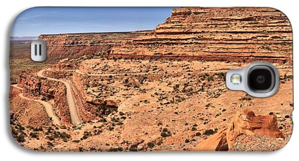 Ancient Galaxy S4 Cases - Moki Dugway Utah Panorama Galaxy S4 Case by Adam Jewell