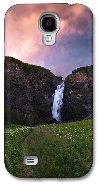 Norway Galaxy S4 Cases - Mollisfossen Galaxy S4 Case by Tor-Ivar Naess