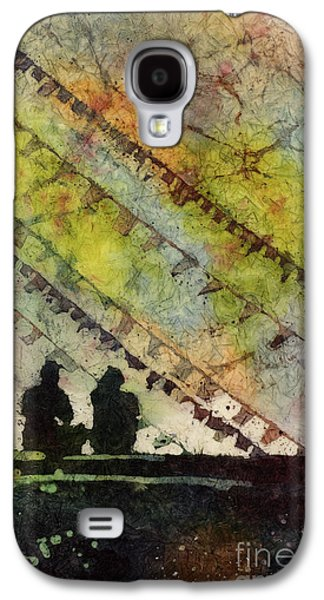 Buddhist Monk Galaxy S4 Cases - Moment in Time- Nepal Galaxy S4 Case by Ryan Fox