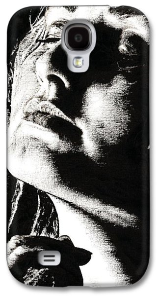 Faces Paintings Galaxy S4 Cases - Moments Galaxy S4 Case by Richard Young
