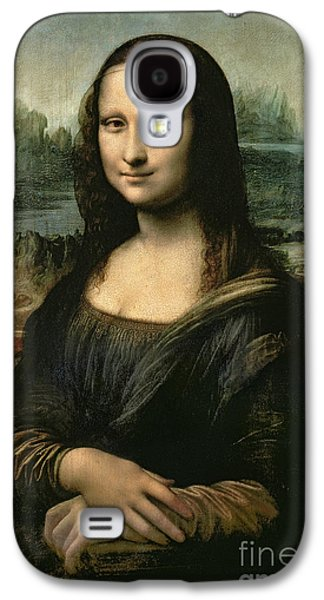 People Galaxy S4 Cases - Mona Lisa Galaxy S4 Case by Leonardo da Vinci