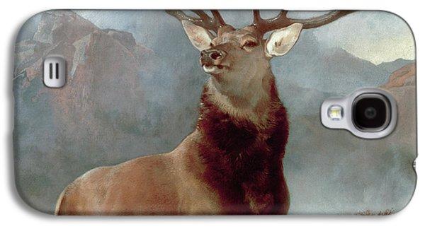 Monarch Of The Glen Galaxy S4 Case by Sir Edwin Landseer