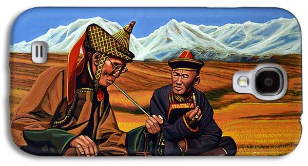 Mongolia Land Of The Eternal Blue Sky Galaxy S4 Case by Paul Meijering