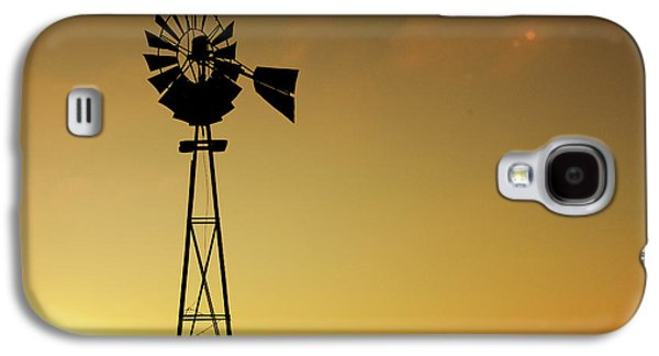 Monitor Silhouette Galaxy S4 Case by Todd Klassy