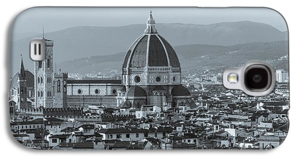 Ancient Galaxy S4 Cases - Monochrome Florence Galaxy S4 Case by David Warrington