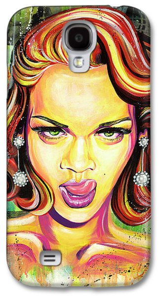 Monroe Gone Bad Galaxy S4 Case by Aramis Hamer