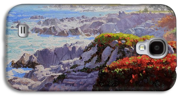 Monteray Bay Morning 2 Galaxy S4 Case by Gary Kim