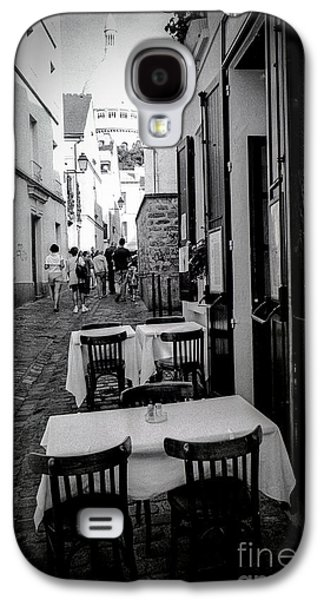 Chair Pyrography Galaxy S4 Cases - Montmartre -Paris Galaxy S4 Case by Cyril Jayant