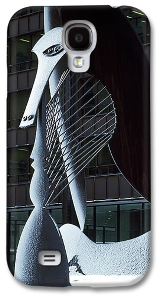 Monumental Sculpture In Front Galaxy S4 Case by Panoramic Images