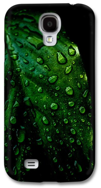 Recently Sold -  - Abstract Nature Galaxy S4 Cases - Moody Raindrops Galaxy S4 Case by Parker Cunningham
