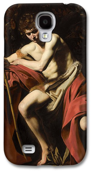Caravaggio Galaxy S4 Cases - Moody St. John the Baptist Galaxy S4 Case by Celestial Images