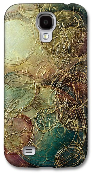 Subtle Colors Galaxy S4 Cases - Moon thread Galaxy S4 Case by Michael Lang