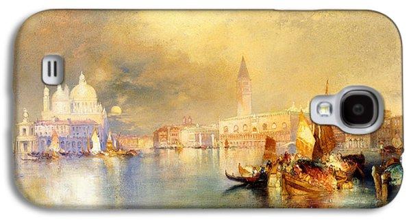 Moonlight In Venice Galaxy S4 Case by Thomas Moran