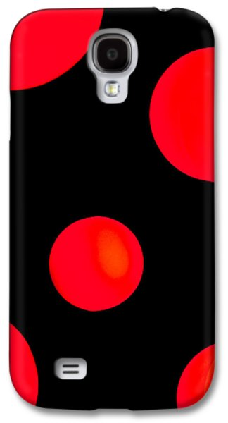 Connect Photographs Galaxy S4 Cases - Moonlighting Galaxy S4 Case by Az Jackson