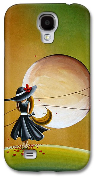 Girl Galaxy S4 Cases - Moonrise Galaxy S4 Case by Cindy Thornton