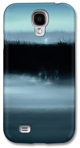Moonrise On The Water Galaxy S4 Case by Scott Norris