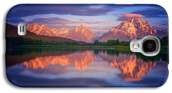 Landscape Acrylic Prints Galaxy S4 Cases - Moran Cloudcap Galaxy S4 Case by Darren  White