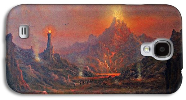 Mordor Land Of Shadow Galaxy S4 Case by Joe Gilronan