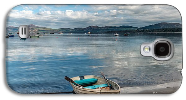 Beach Landscape Digital Galaxy S4 Cases - Morfa Nefyn Bay Galaxy S4 Case by Adrian Evans