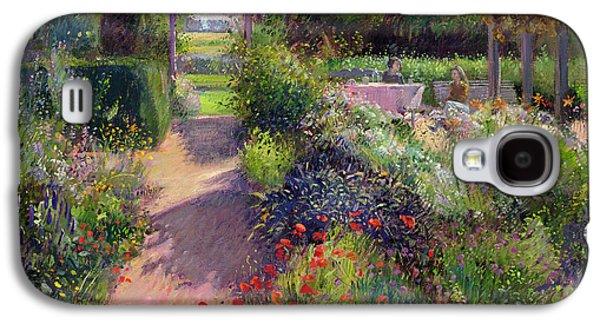 Morning Break In The Garden Galaxy S4 Case by Timothy Easton