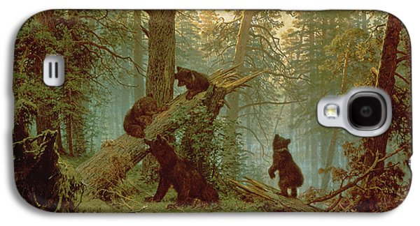 Morning In A Pine Forest Galaxy S4 Case by Ivan Ivanovich Shishkin