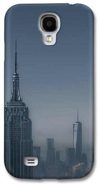 City Scene Galaxy S4 Cases - Morning in New York Galaxy S4 Case by Chris Fletcher
