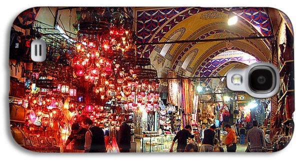 Istanbul Galaxy S4 Cases - Morning in the Grand Bazaar Galaxy S4 Case by Mike Reid