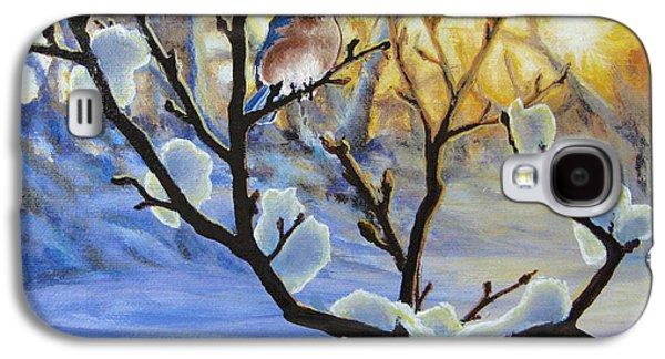 Morning Light Paintings Galaxy S4 Cases - Morning Light Galaxy S4 Case by Joe Mandrick