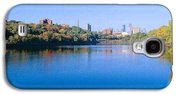 Landscapes Photographs Galaxy S4 Cases - Morning, Minneapolis, Minnesota Galaxy S4 Case by Panoramic Images