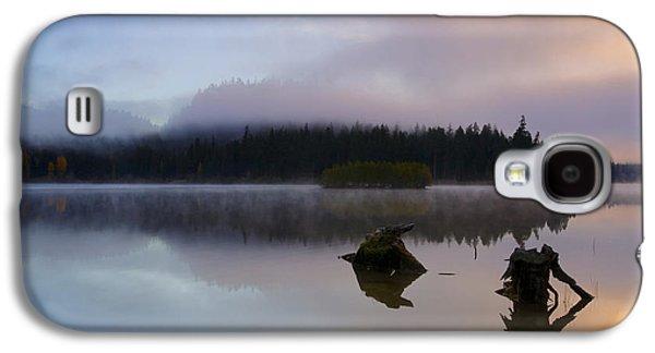 Fog Mist Galaxy S4 Cases - Morning Mist Burning Galaxy S4 Case by Mike  Dawson