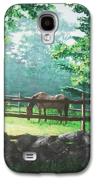 Jack Skinner Galaxy S4 Cases - Morning Pasture Galaxy S4 Case by Jack Skinner