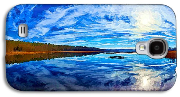 Digitally Manipulated Galaxy S4 Cases - Morning Reflections at the Moosehorn Galaxy S4 Case by Bill Caldwell -        ABeautifulSky Photography
