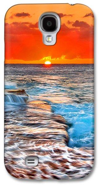 Morning Photographs Galaxy S4 Cases - Morning Sun Galaxy S4 Case by Az Jackson