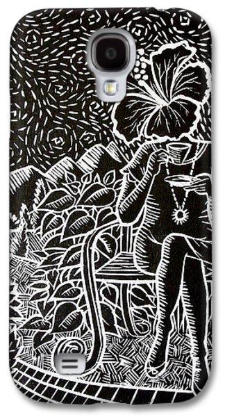 Morning Tea Enjoyment Galaxy S4 Case by Natasha Junmanee