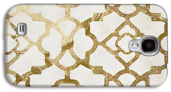 Moroccan Gold I Galaxy S4 Case by Mindy Sommers