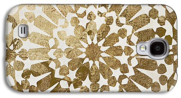 Moroccan Gold II Galaxy S4 Case by Mindy Sommers