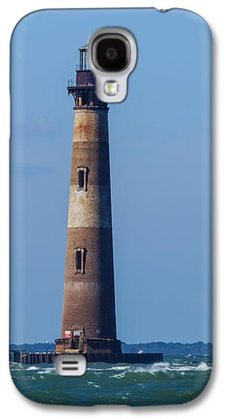 Landmarks Photographs Galaxy S4 Cases - Morris Island Lighthouse Galaxy S4 Case by Jennifer White