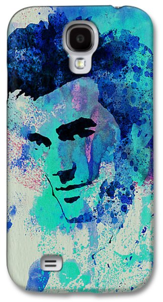 British Portraits Galaxy S4 Cases - Morrissey Galaxy S4 Case by Naxart Studio