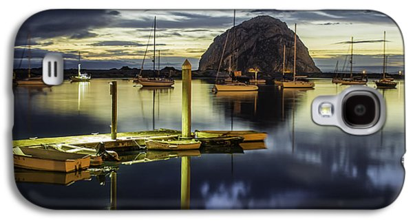 Coast Hwy Ca Galaxy S4 Cases - Morro Bay Reflections Galaxy S4 Case by Jan and Burt Williams
