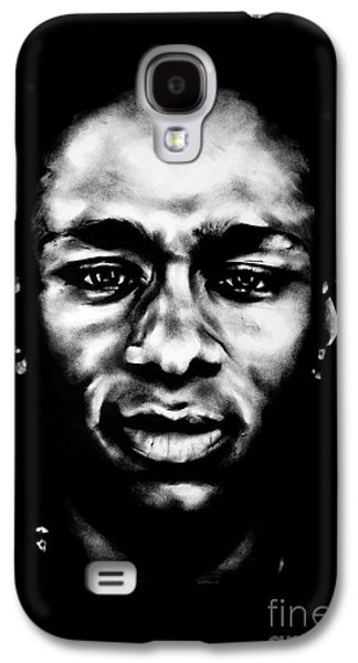 Hop Drawings Galaxy S4 Cases - Mos Def Galaxy S4 Case by Brian Curran