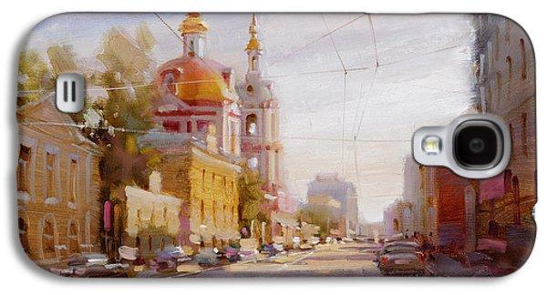 Moscow. Staraya Basmannaya Street Galaxy S4 Case by Ramil Gappasov