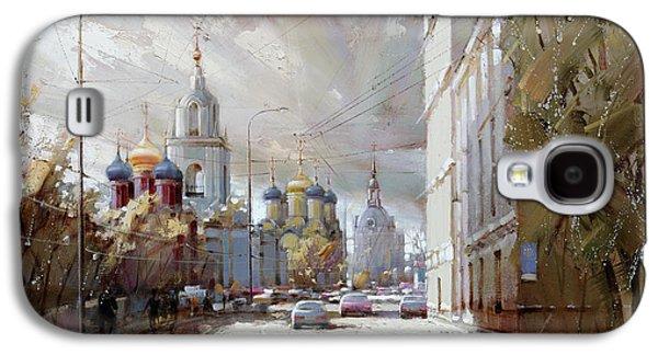 Moscow. Varvarka Street. Galaxy S4 Case by Ramil Gappasov
