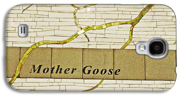 Bryant Park Galaxy S4 Cases - Mother Goose at the Root of Culture Galaxy S4 Case by Sarah Loft